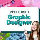 We're Hiring a Freelance Graphic Designer