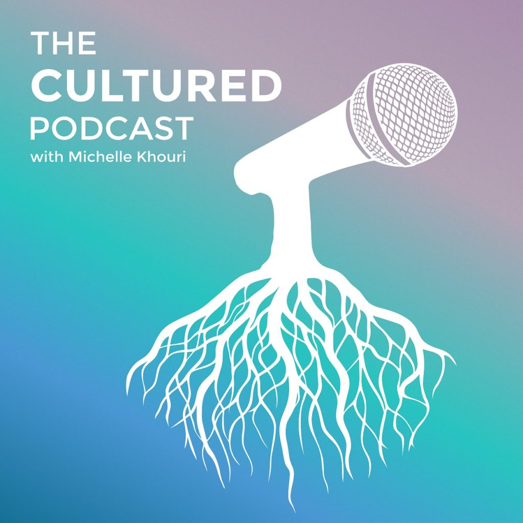 Cover art for The Cultured Podcast by Michelle Khouri, a FRQNCY Media Production