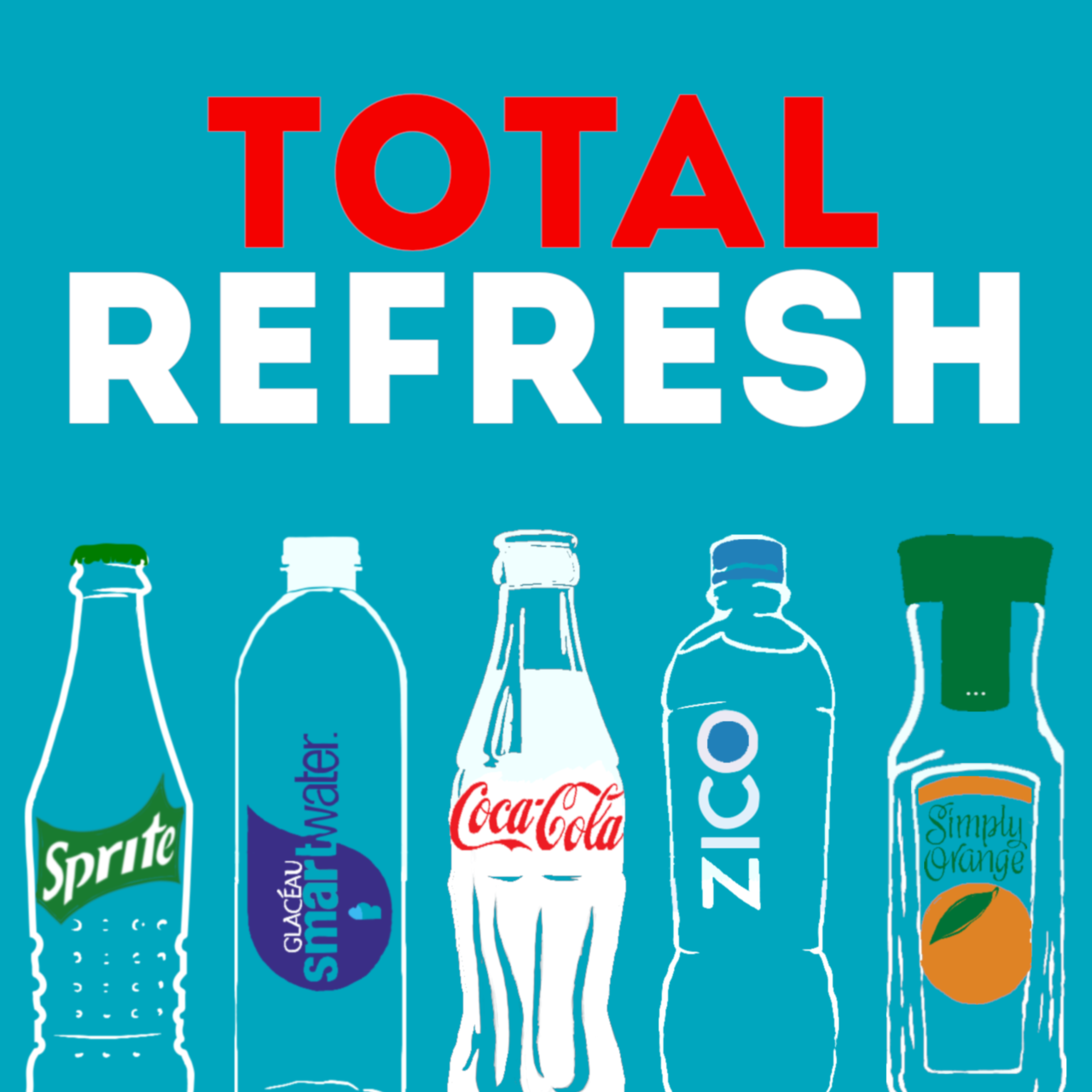 Cover art for Total Refresh by The Coca-Cola Company, a FRQNCY Media Production