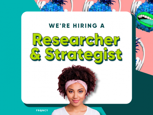 We're Hiring a Podcast Researcher and Strategist