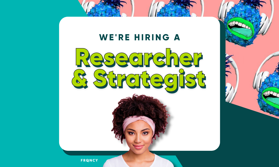 podcast strategist and researcher
